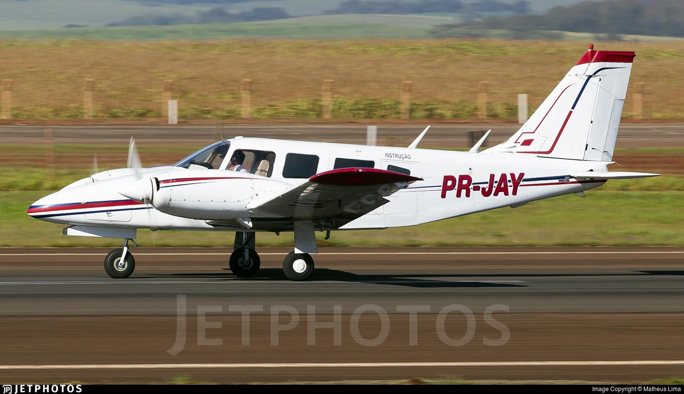 PR-JAY - Piper PA-34-200T Seneca II - Aero Club - Maringa