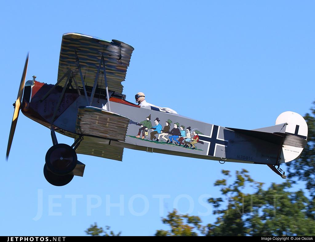 N70814 Fokker D Vii Old Rhinebeck Aerodrome Museum