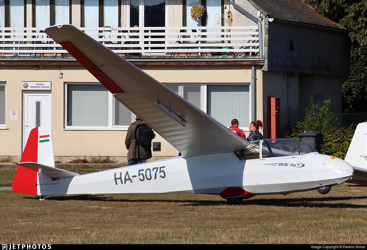 HA-5075 - Schleicher Ka-7 Rhönadler - Private