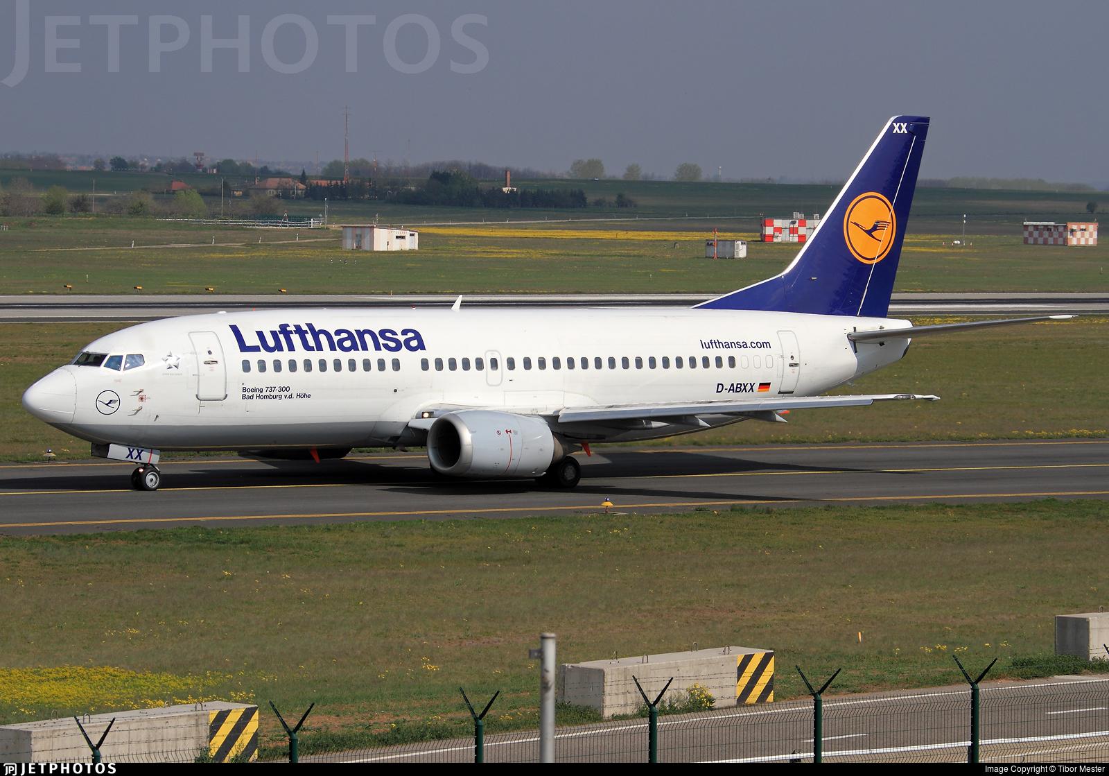 D-ABXX - Boeing 737-330 - Lufthansa