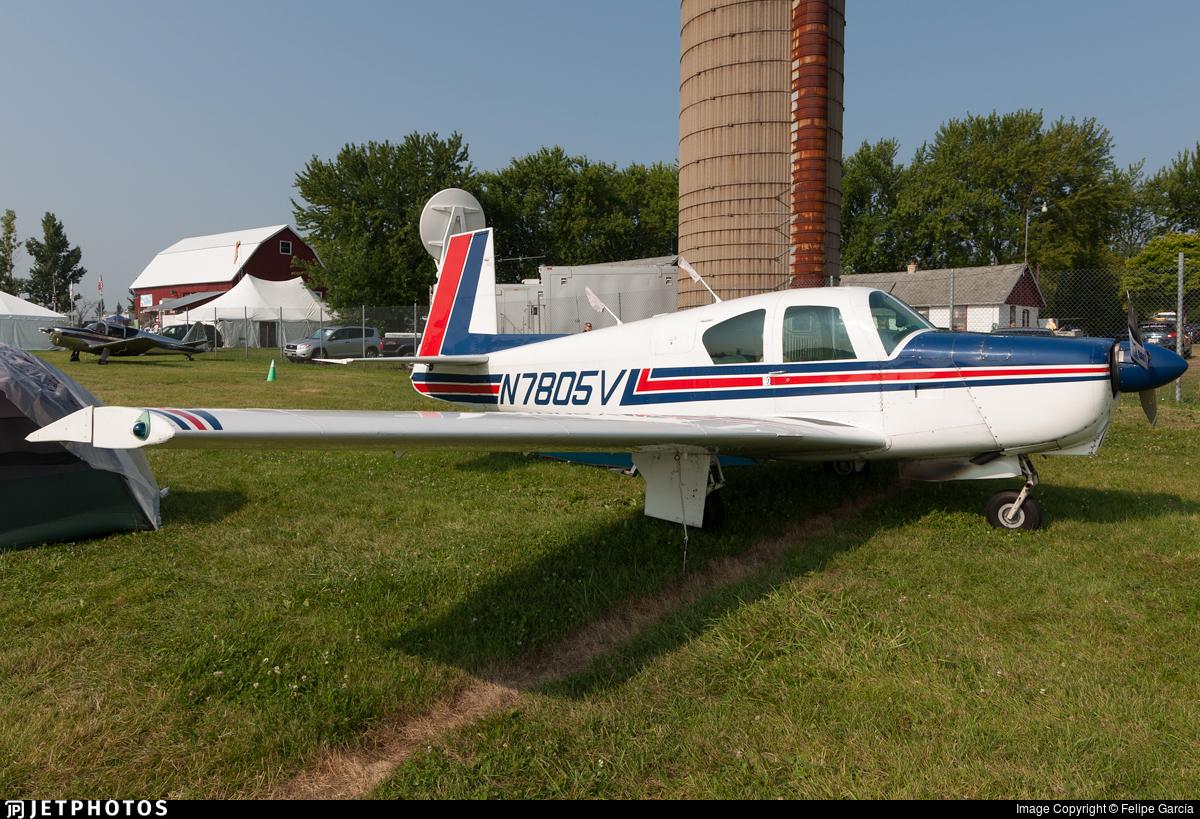 N7805V - Mooney M20C - Private