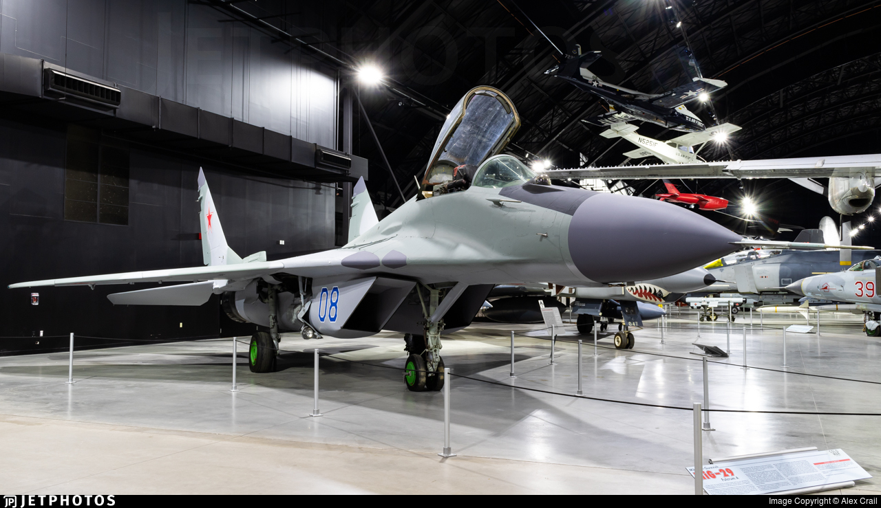 08 - Mikoyan-Gurevich MiG-29A Fulcrum A - Russia - Air Force