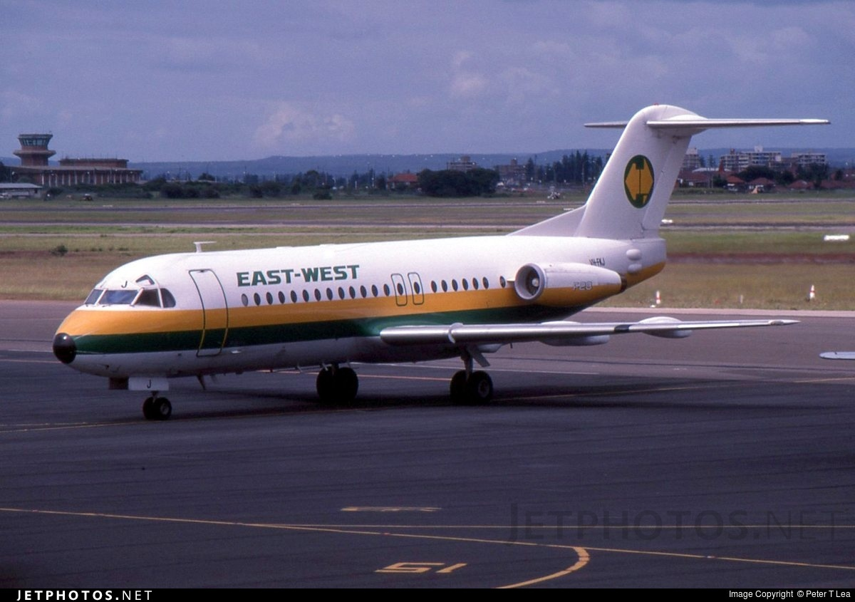 VH-FKJ - Fokker F28-4000 Fellowship - East West Airlines