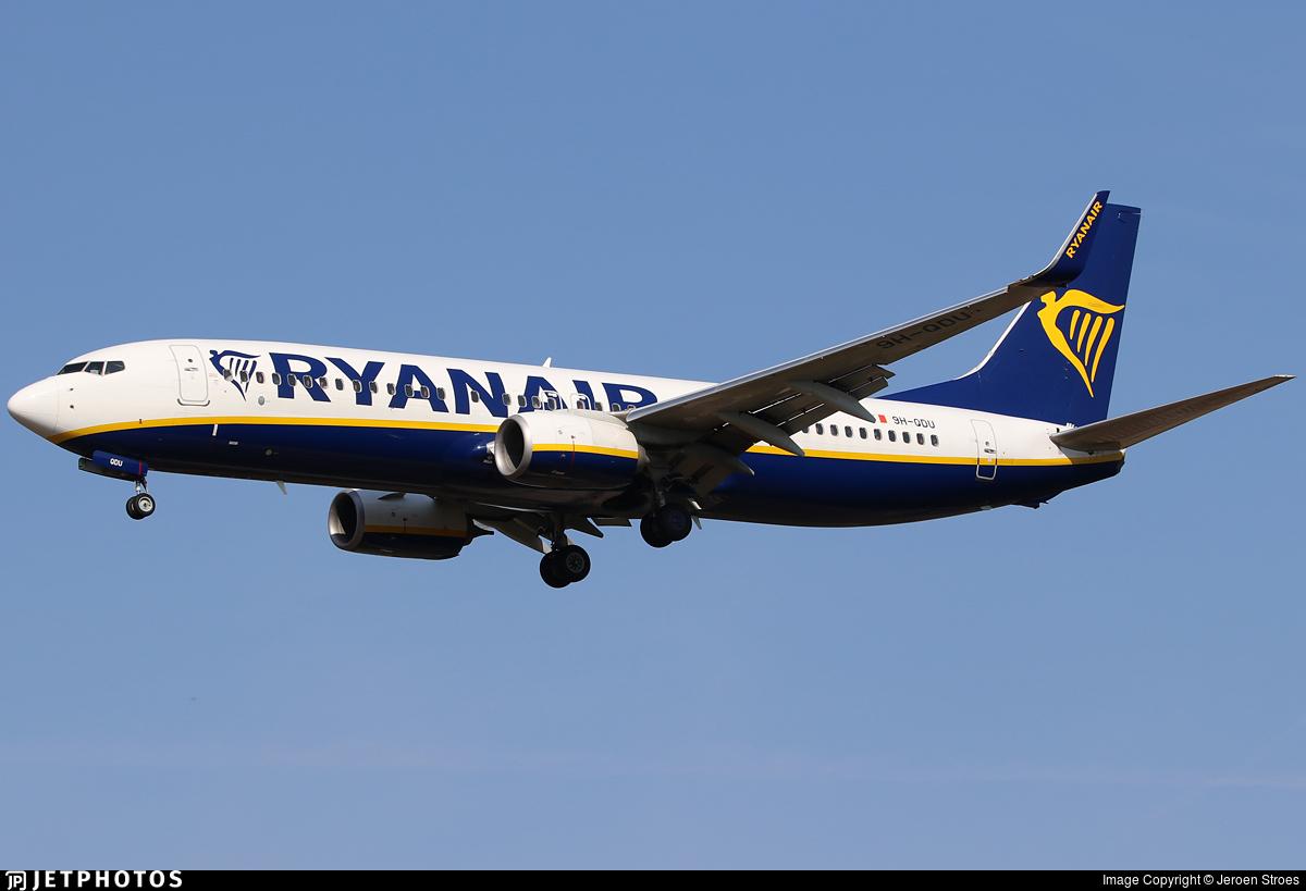 9H-QDU - Boeing 737-8AS - Ryanair (Malta Air)