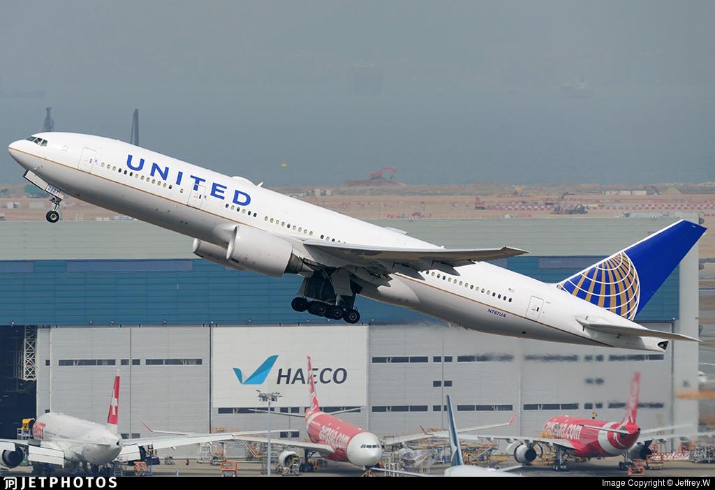 N787UA - Boeing 777-222(ER) - United Airlines