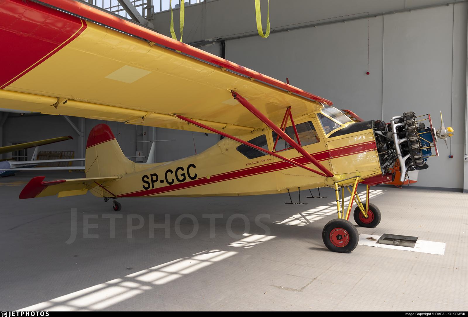 SP-CGC - PZL-Okecie 101 Gawron - Private