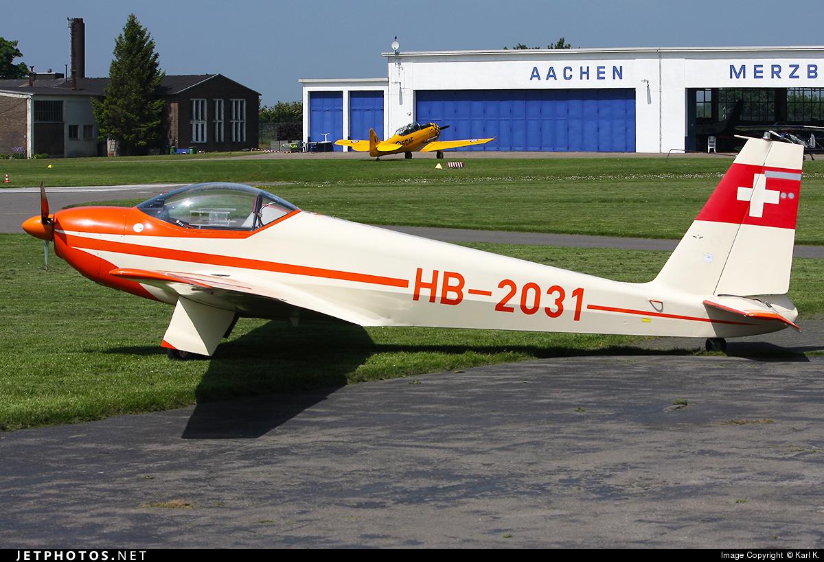 HB-2031 - Schleicher ASK-16 - Private