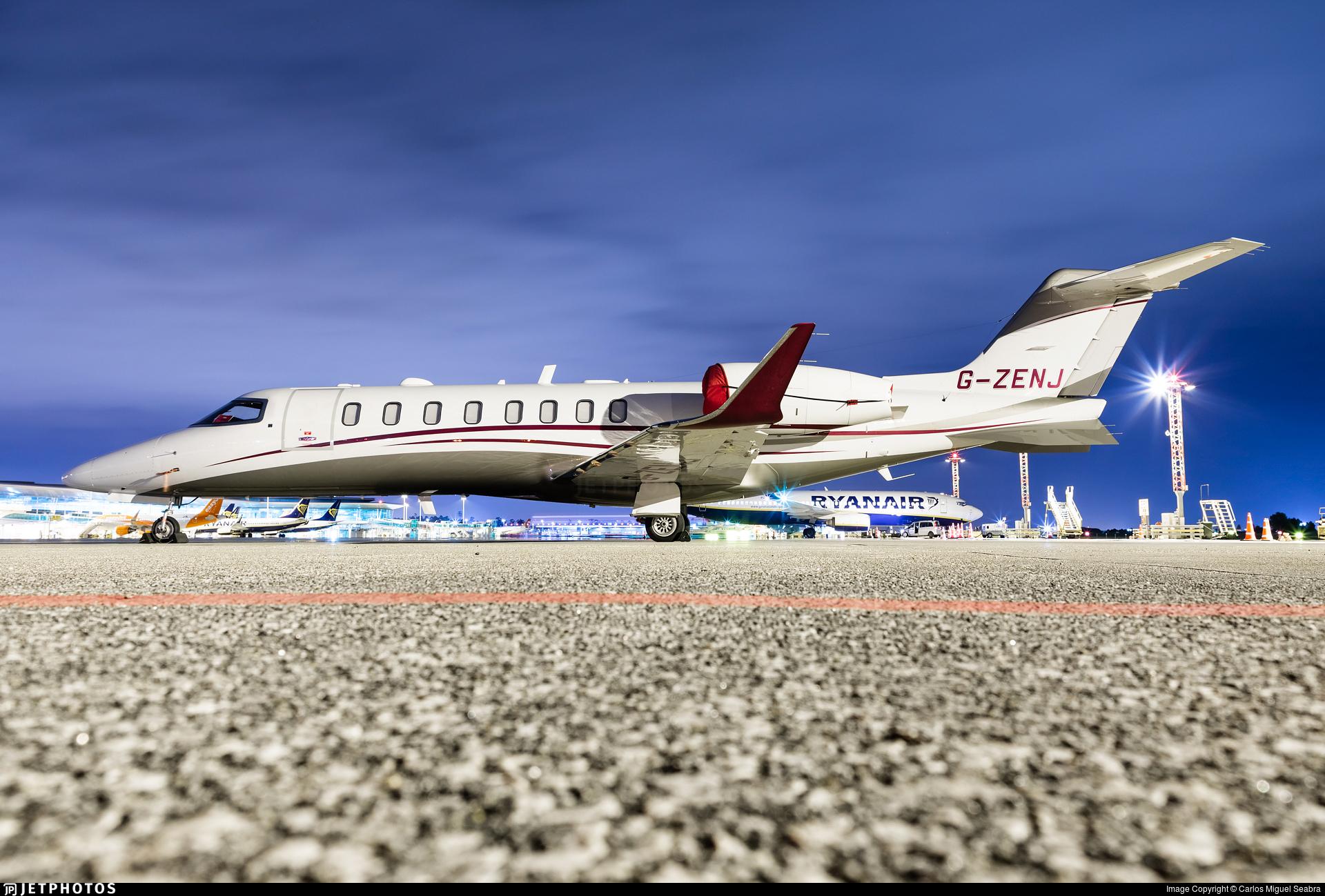 G-ZENJ - Bombardier Learjet 75 - Zenith Air