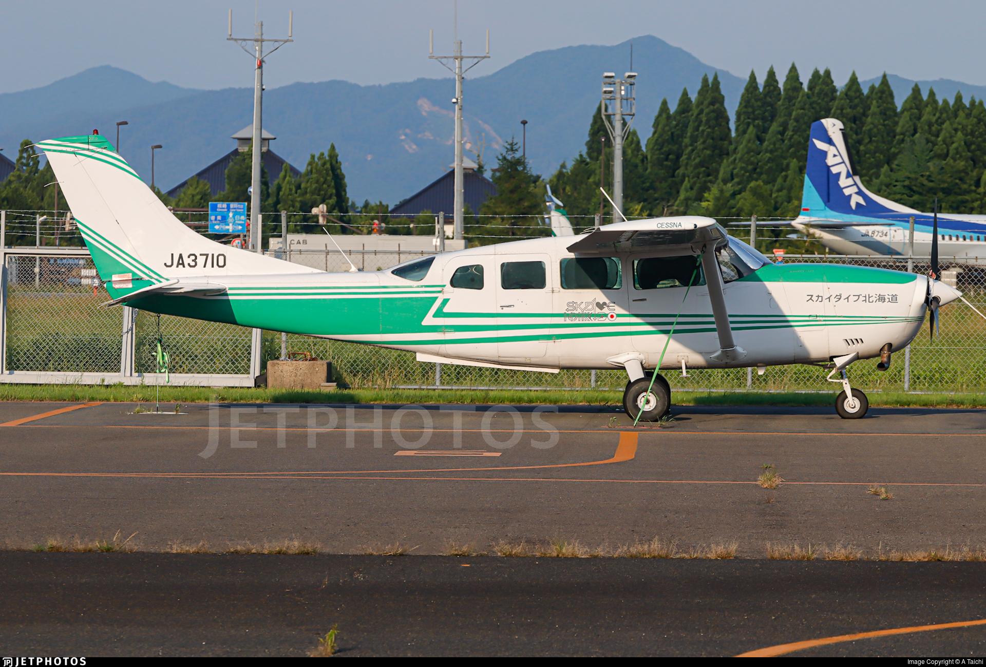 JA3710 - Cessna T207 Turbo Skywagon - Private