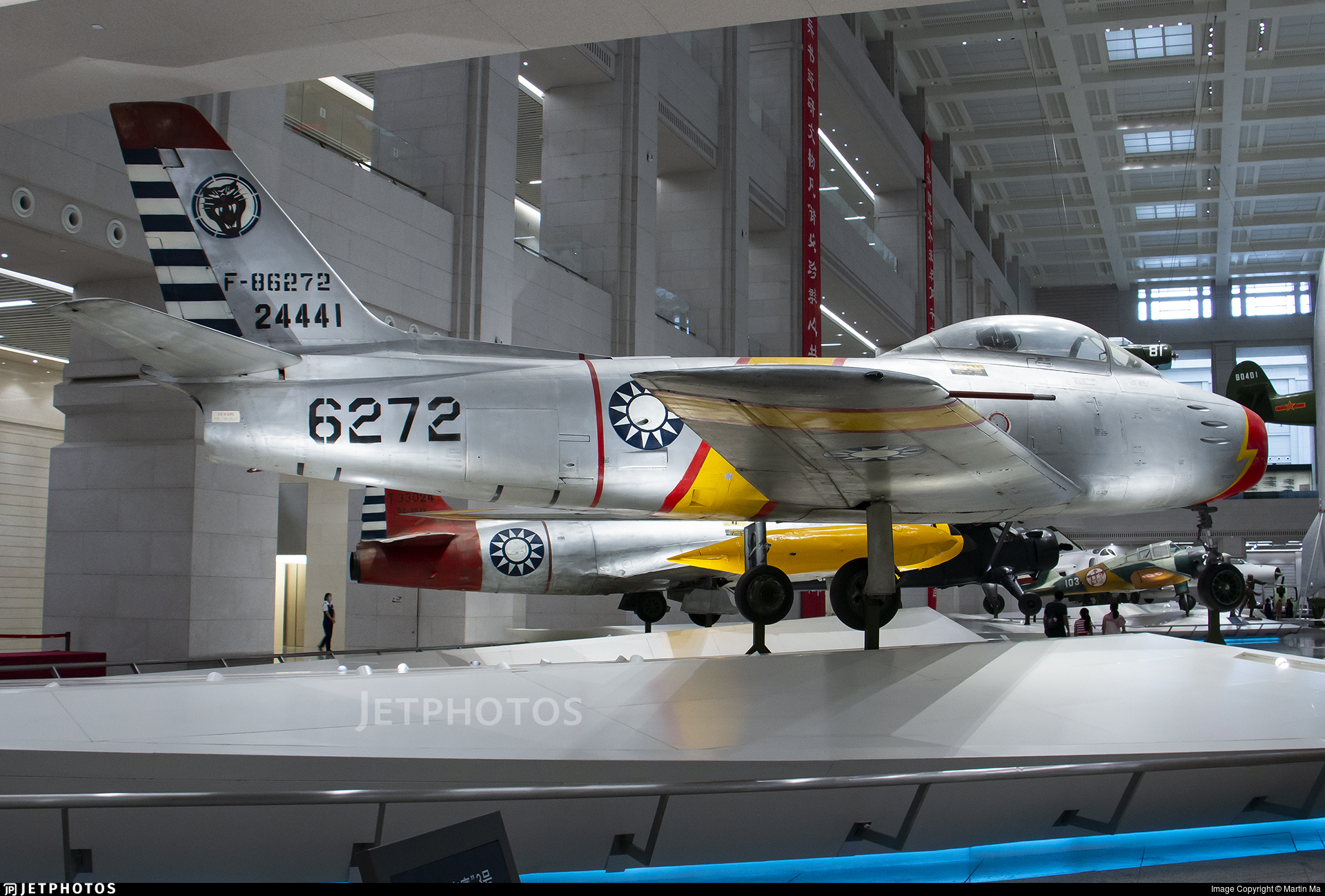 F-86272 - North American F-86F Sabre - Taiwan - Air Force
