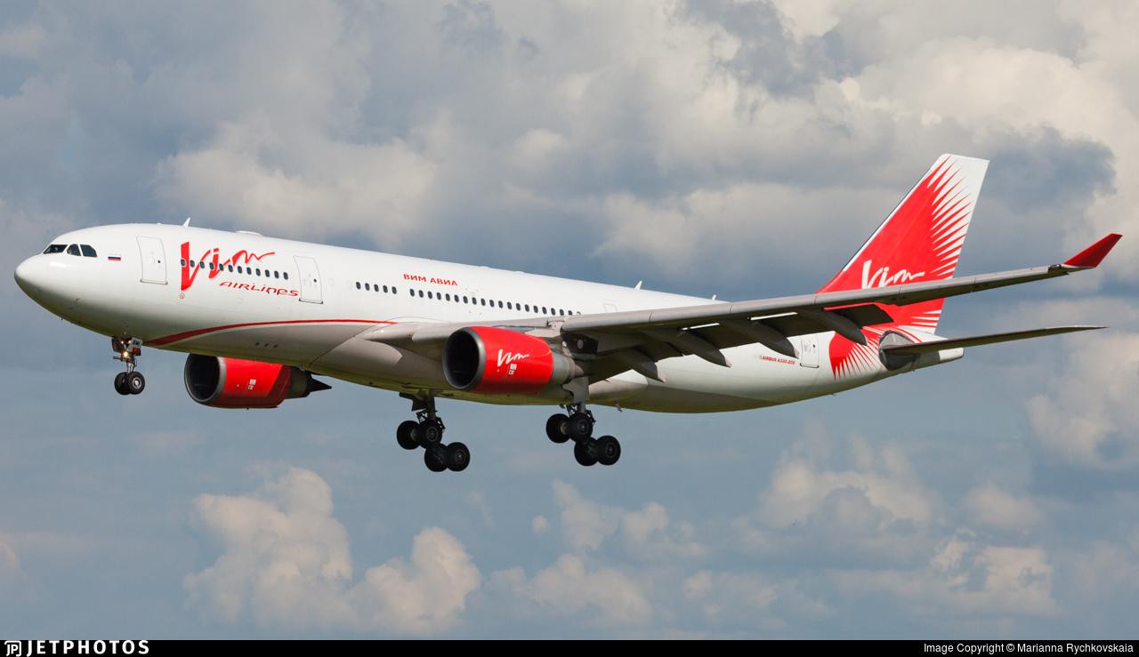 VQ-BMI - Airbus A330-203 - Vim Airlines