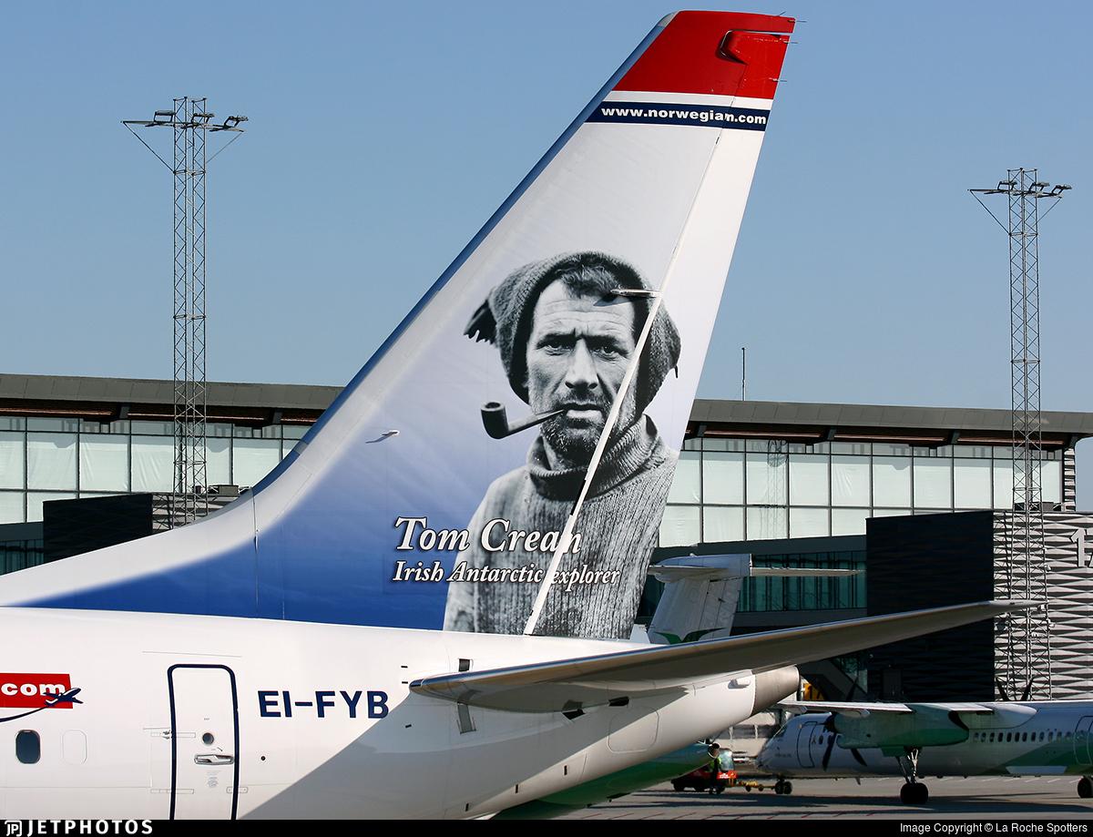 EI-FYB - Boeing 737-8 MAX - Norwegian