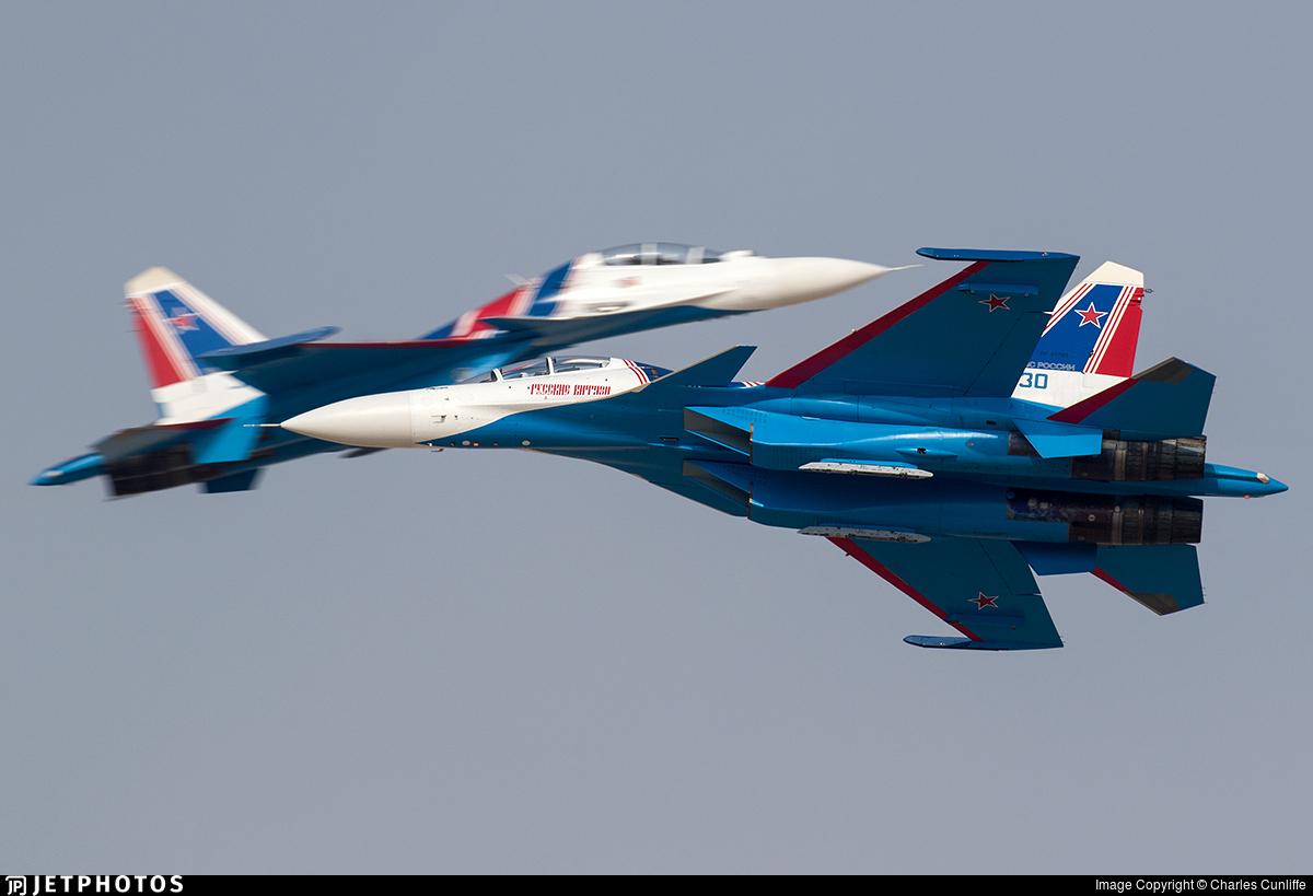 30 - Sukhoi Su-30SM - Russia - Air Force