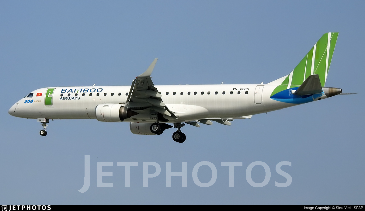 VN-A266 - Embraer 190-100LR - Bamboo Airways