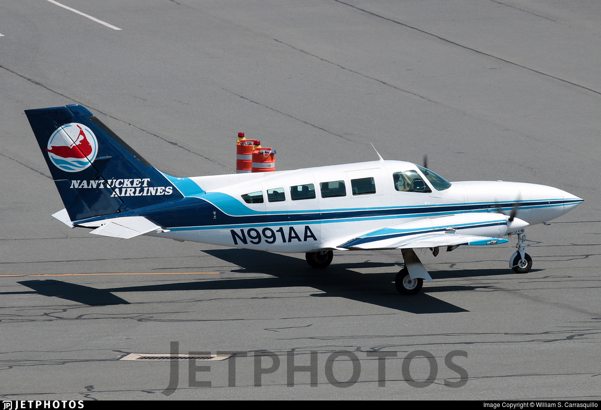 N991AA - Cessna 402C - Nantucket Airlines