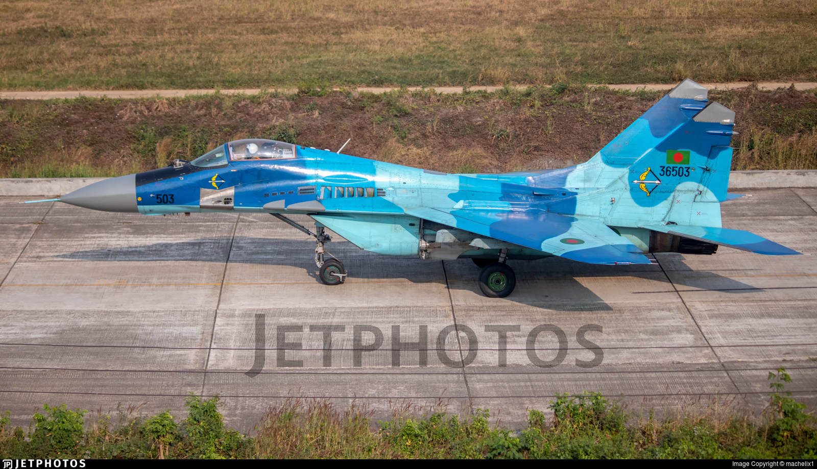 36503 - Mikoyan-Gurevich MiG-29 Fulcrum - Bangladesh - Air Force