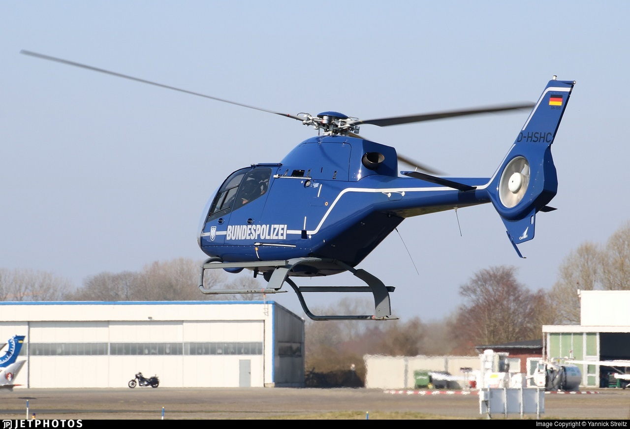 D-HSHC - Eurocopter EC 120B Colibri - Germany - Bundespolizei