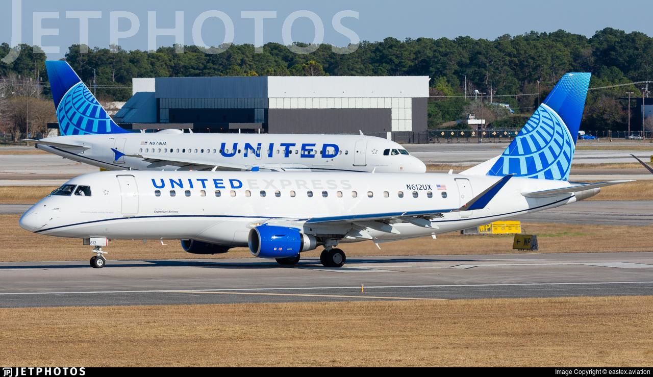 N612UX - Embraer 170-200LL - United Express (ExpressJet Airlines)