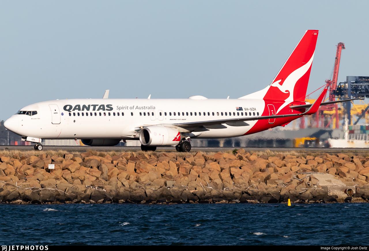 VH-XZH - Boeing 737-838 - Qantas