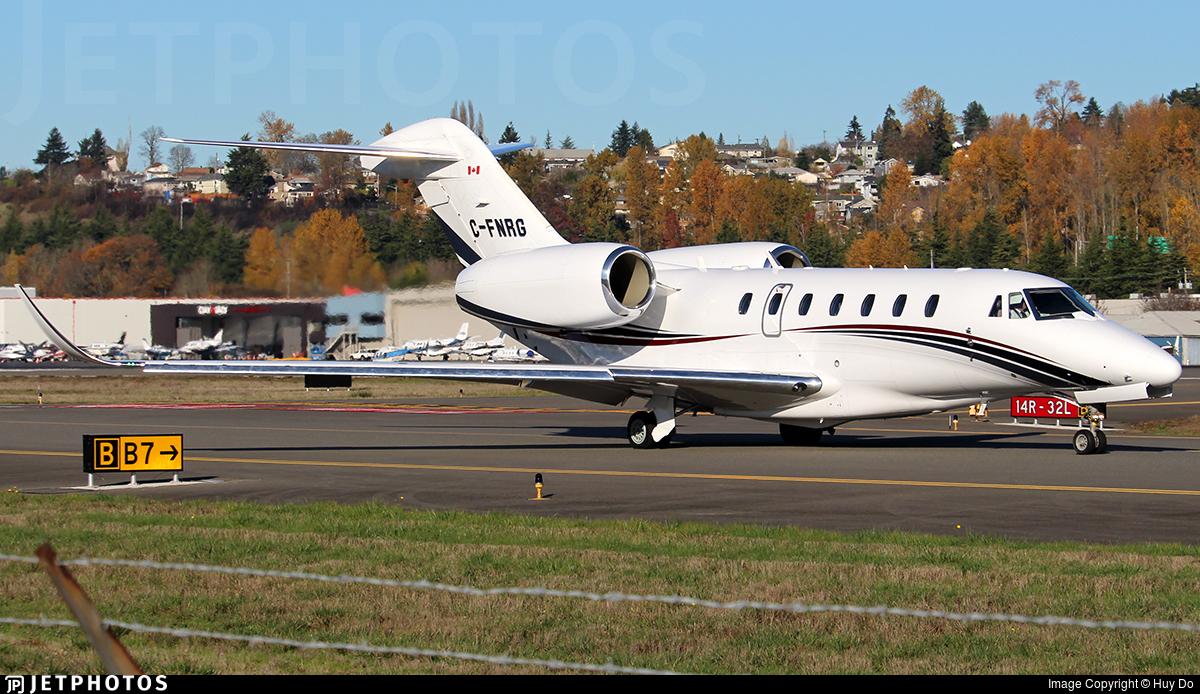 C-FNRG - Cessna 750 Citation X - Skyservice Business Aviation