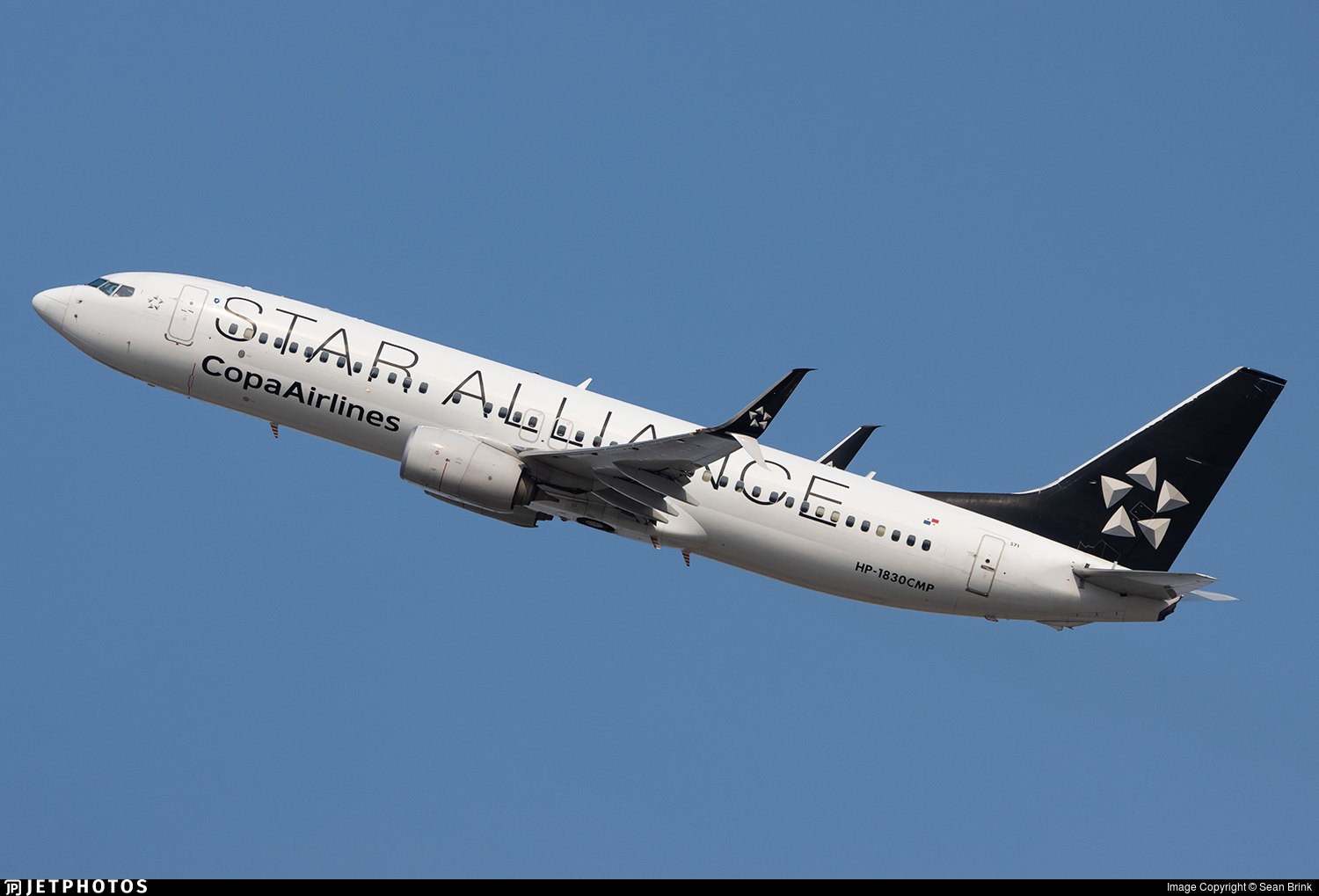 HP-1830CMP - Boeing 737-8V3 - Copa Airlines