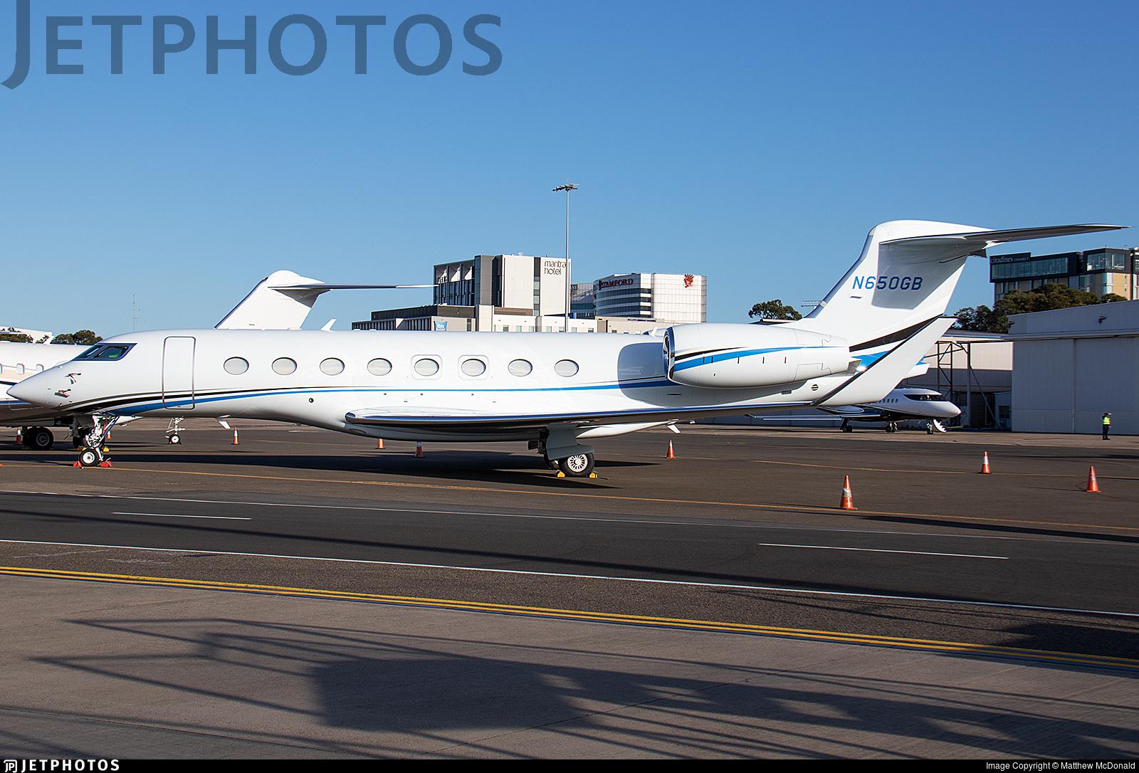 N650GB - Gulfstream G650ER - Private