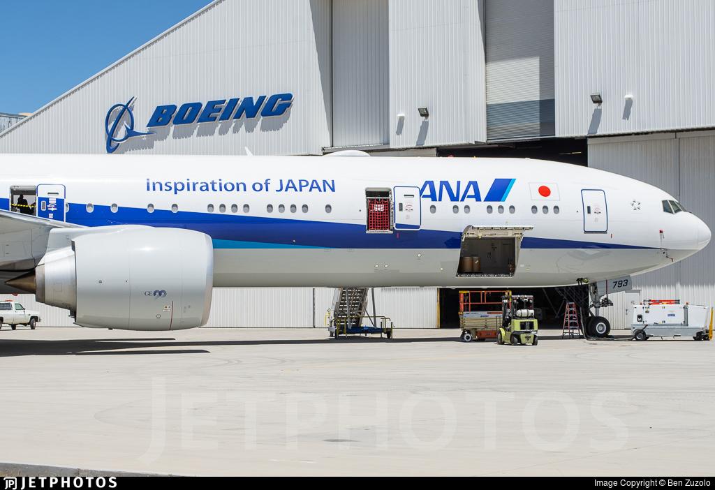 N912BA - Boeing 777-381ER - All Nippon Airways (ANA)