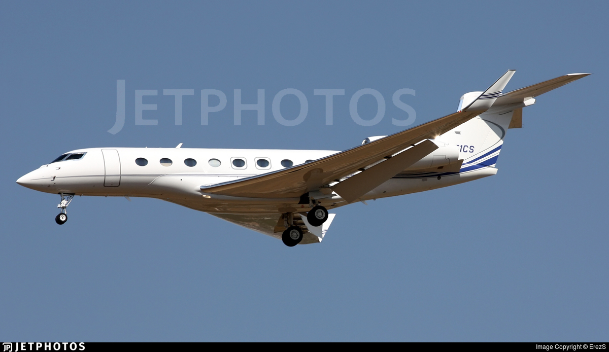 N451CS - Gulfstream G650 - Private
