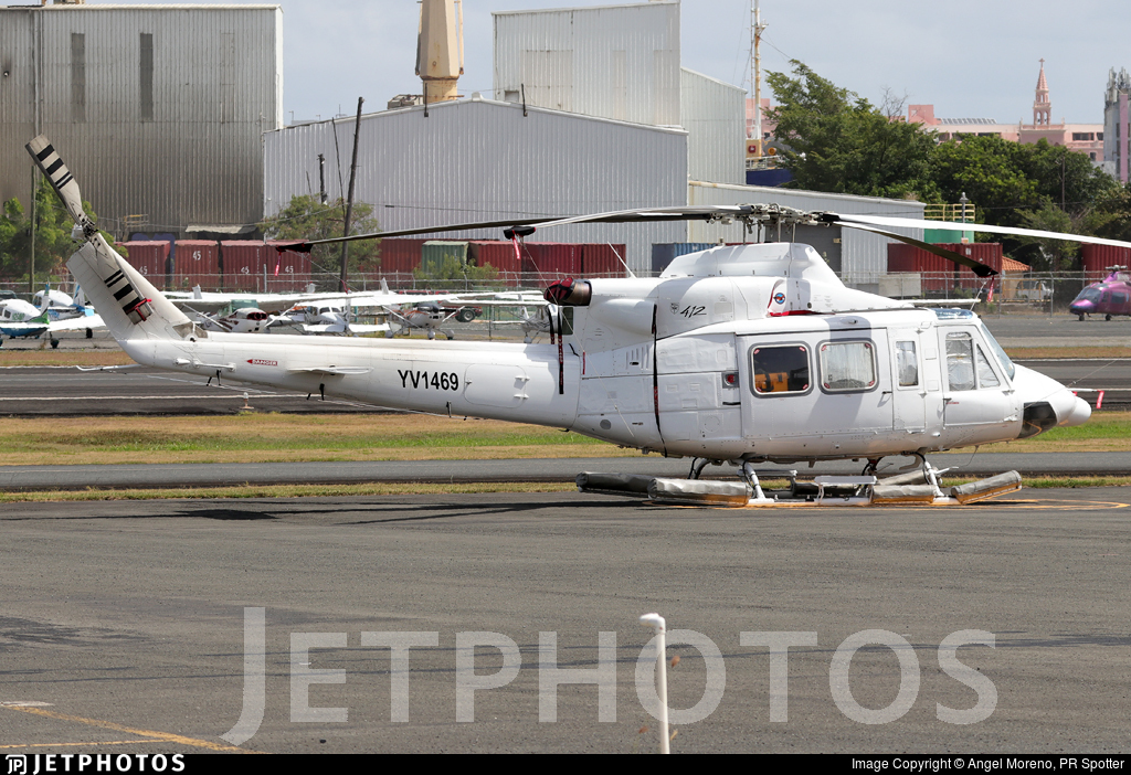 YV1469 - Bell 412 - Private