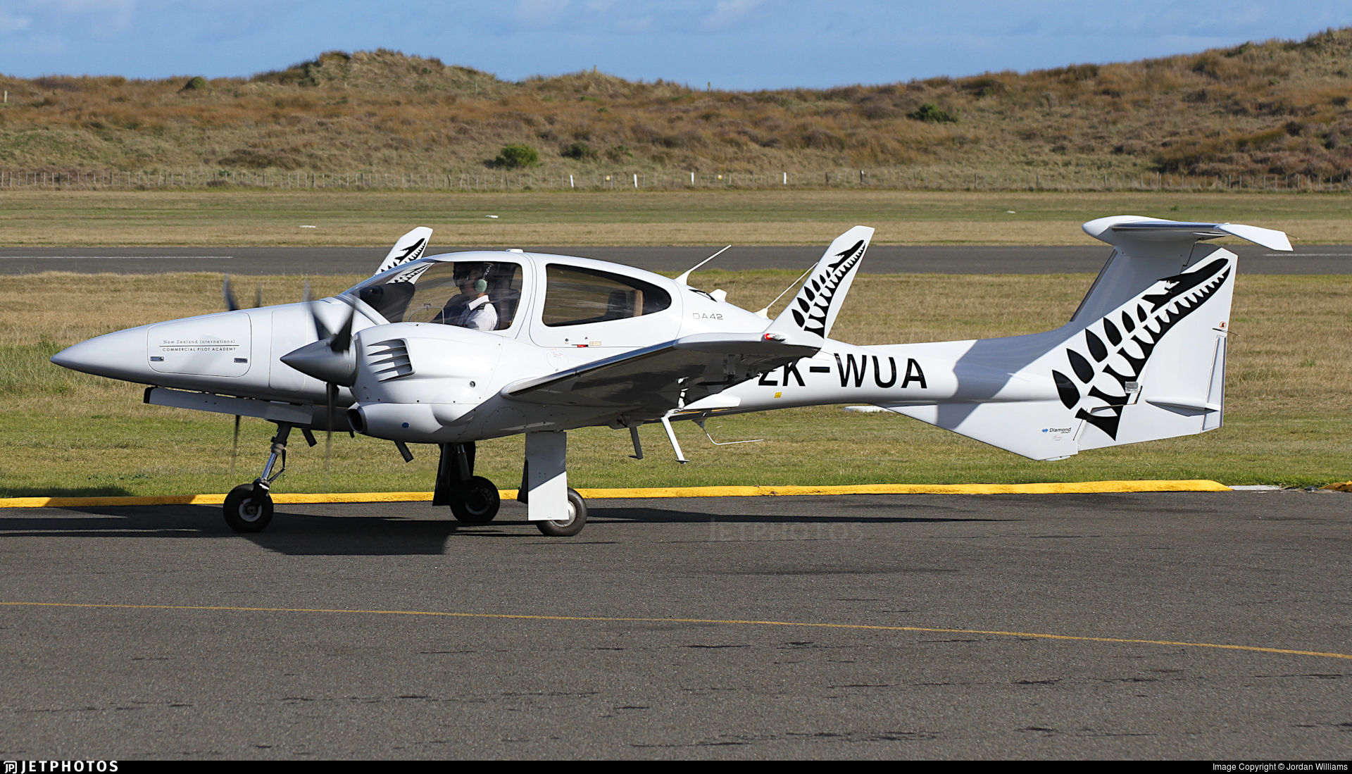 ZK-WUA - Diamond DA-42 Twin Star - New Zealand International Commercial Pilot Academy