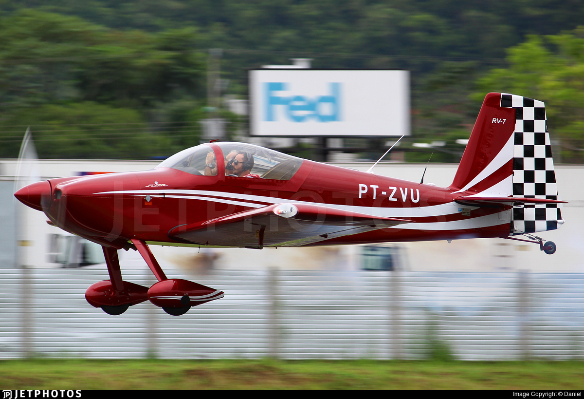 PT-ZVU - Vans RV-7 - Private