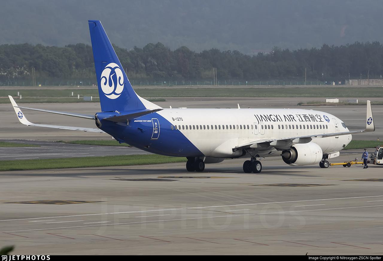 B-1270 - Boeing 737-85C - Jiangxi Airlines