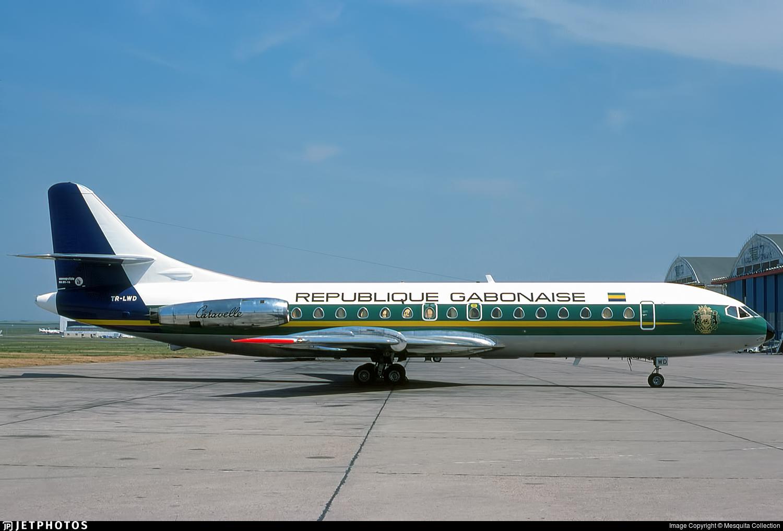 TR-LWD - Sud Aviation SE 210 Caravelle VIR - Gabon - Government