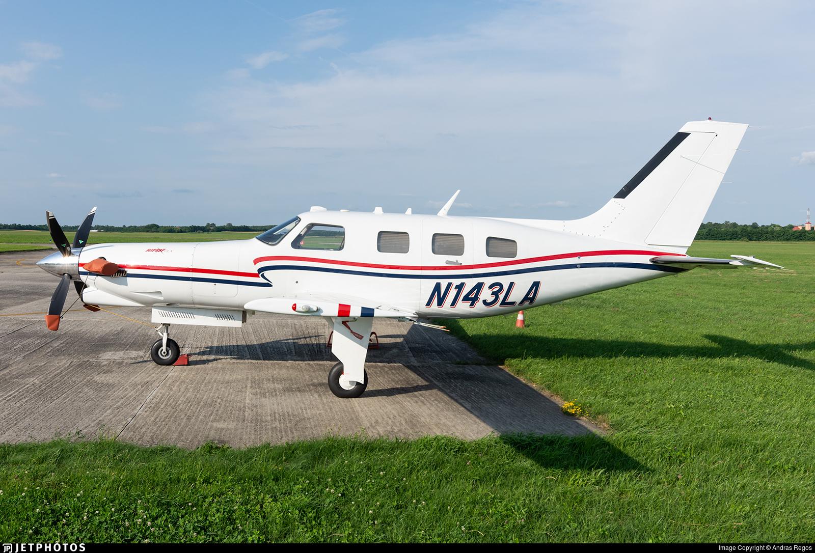 N143LA - Piper PA-46-350P Malibu Mirage - Private