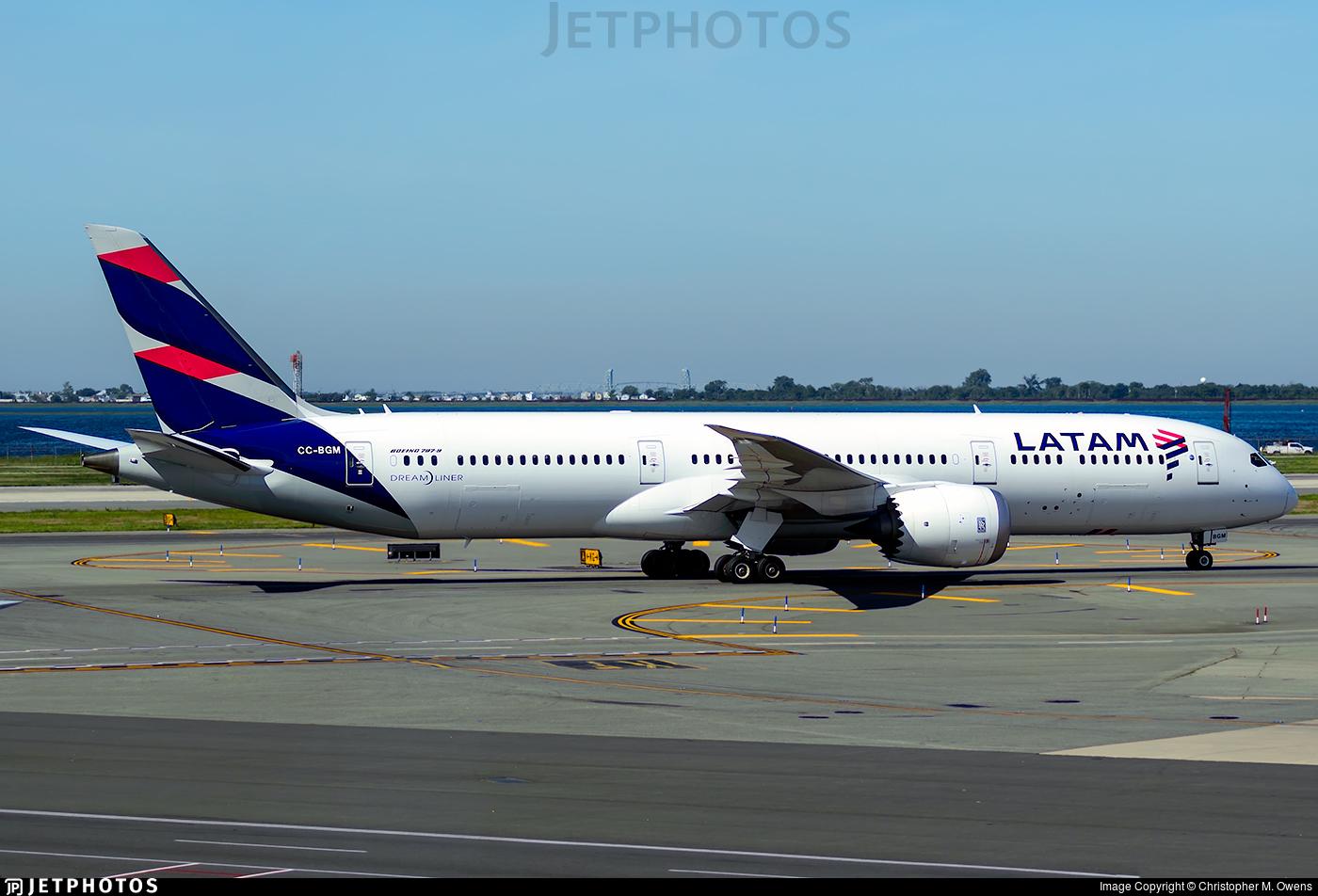 CC-BGM - Boeing 787-9 Dreamliner - LATAM Airlines