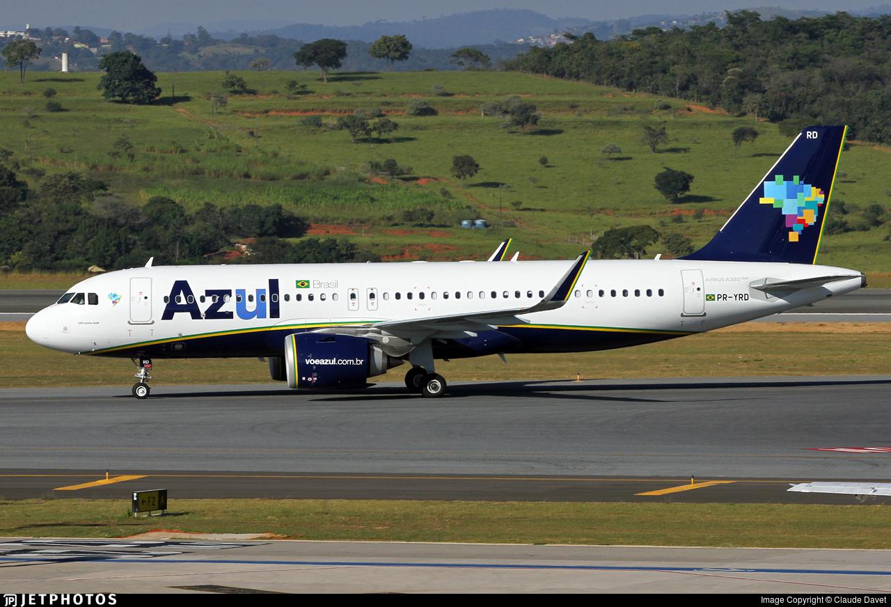 PR-YRD - Airbus A320-251N - Azul Linhas Aéreas Brasileiras
