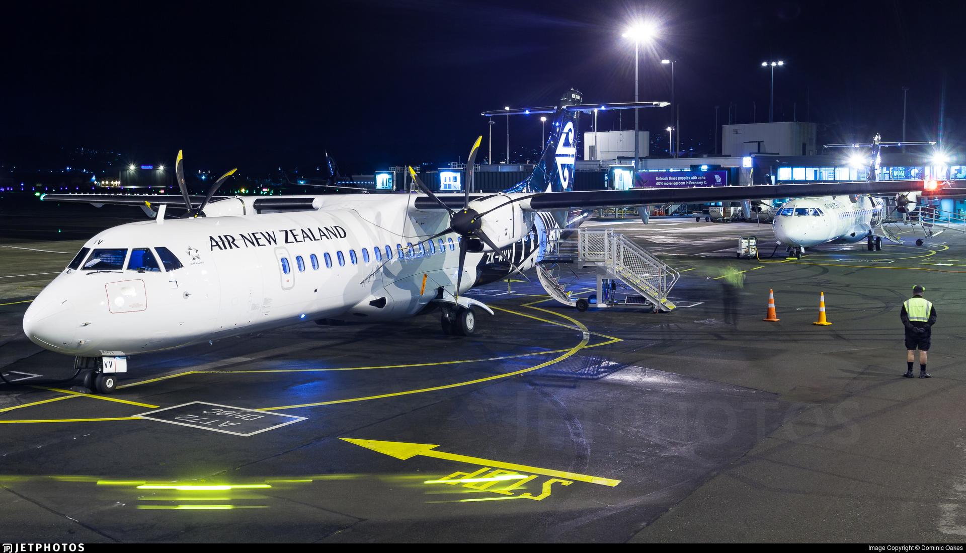 ZK-MVV - ATR 72-212A(600) - Air New Zealand
