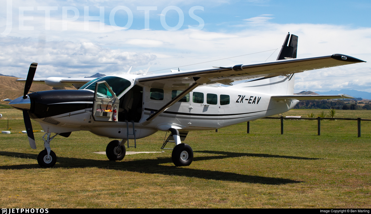 ZK-EAV - Cessna 208 Caravan - Private