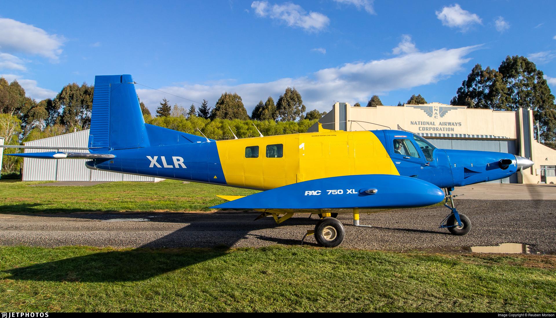 ZK-XLR | Pacific Aerospace 750XL | Otago Airspread | Reuben