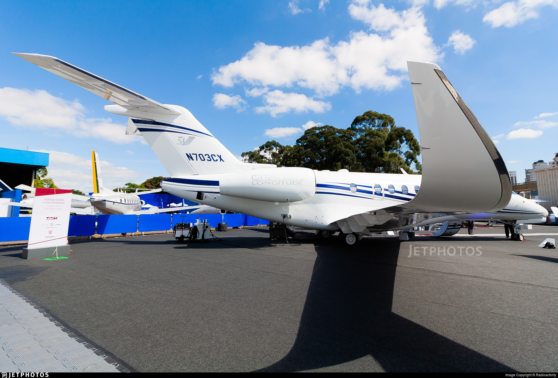 N703CX - Cessna Citation Longitude - Textron Aviation