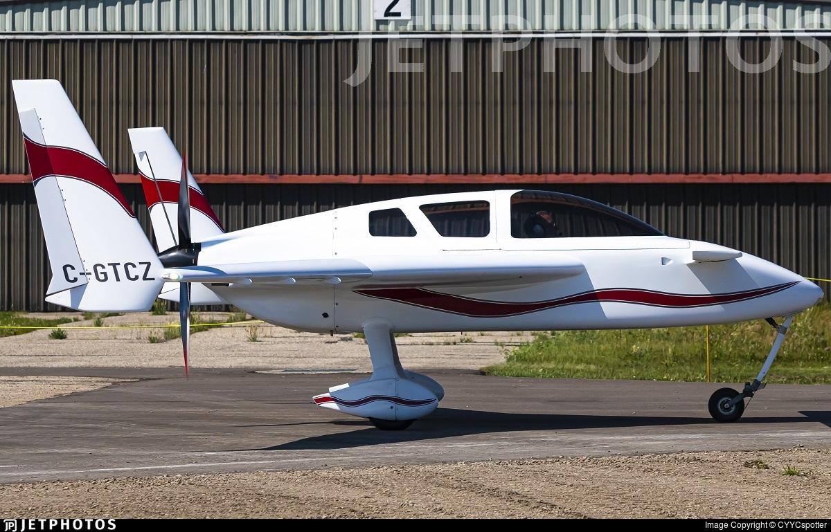 C-GTCZ - Cozy Mk.IV - Private