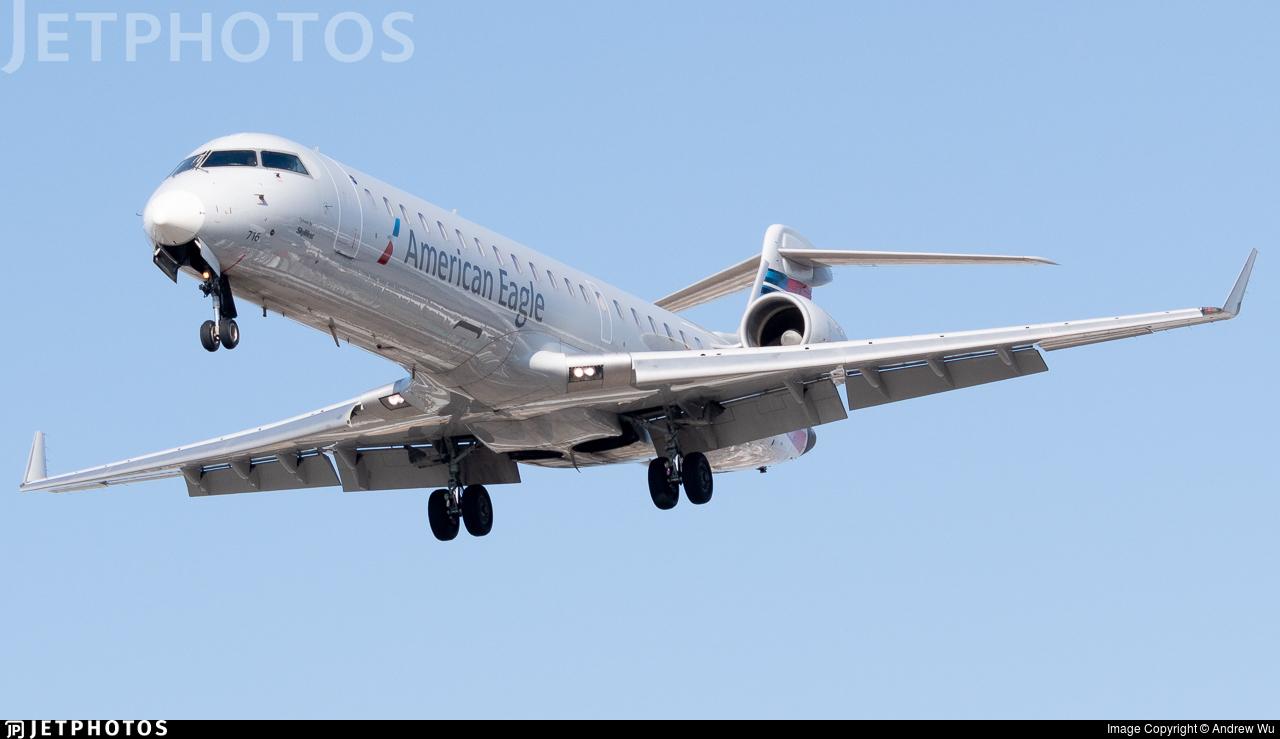 N716EV - Bombardier CRJ-701ER - American Eagle (SkyWest Airlines)