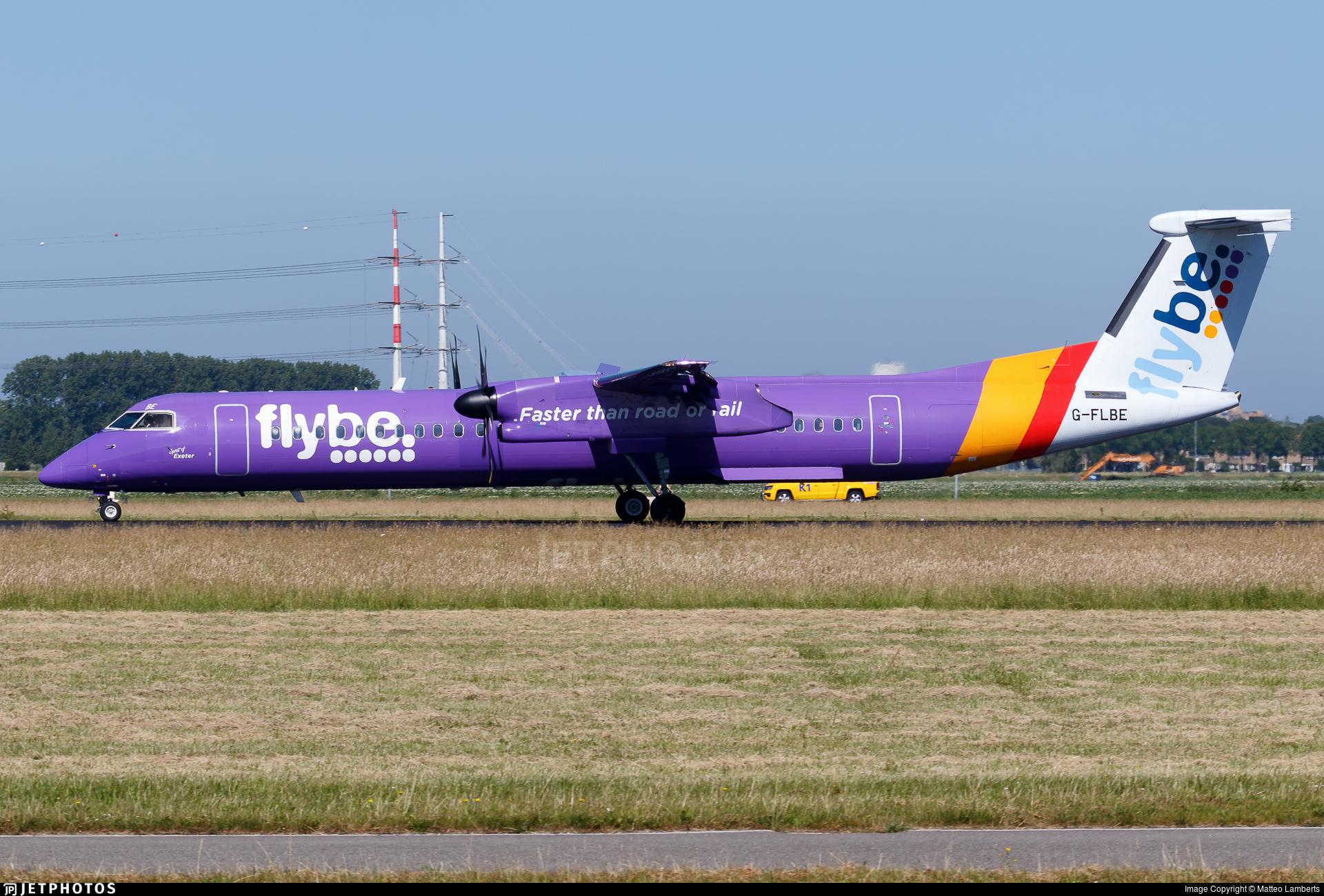 G-FLBE - Bombardier Dash 8-Q402 - Flybe