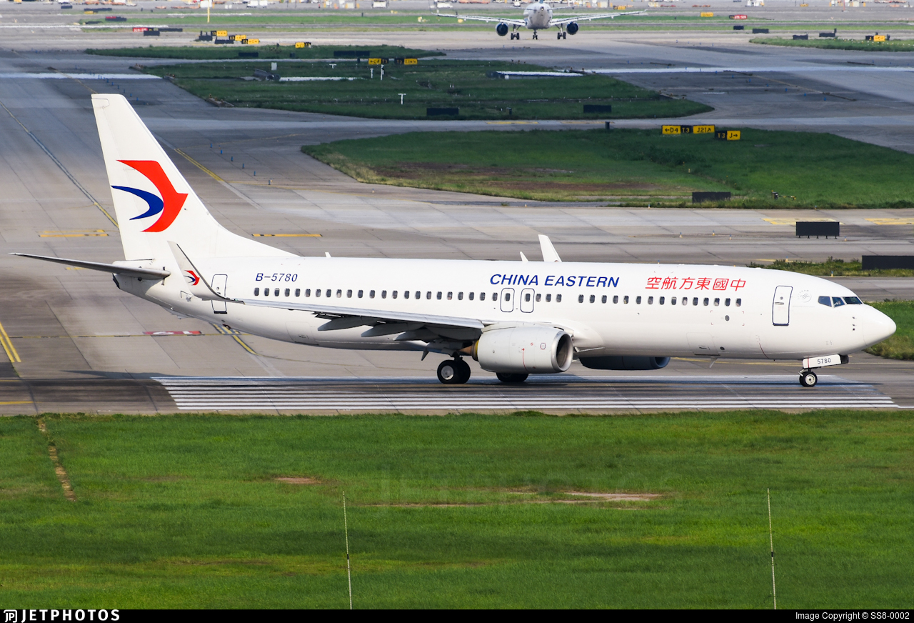B-5780 - Boeing 737-89P - China Eastern Airlines