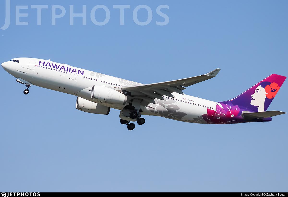 N384HA - Airbus A330-243 - Hawaiian Airlines