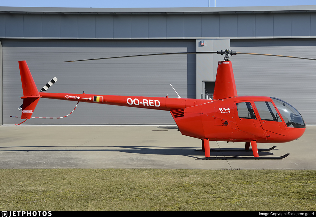 OO-RED - Robinson R44 Raven II - Private