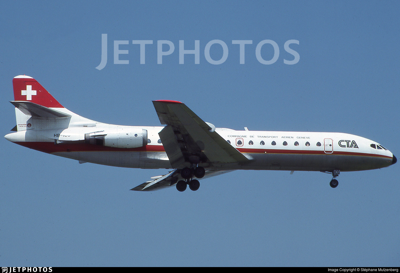 HB-ICO - Sud Aviation SE 210 Caravelle 10R - CTA