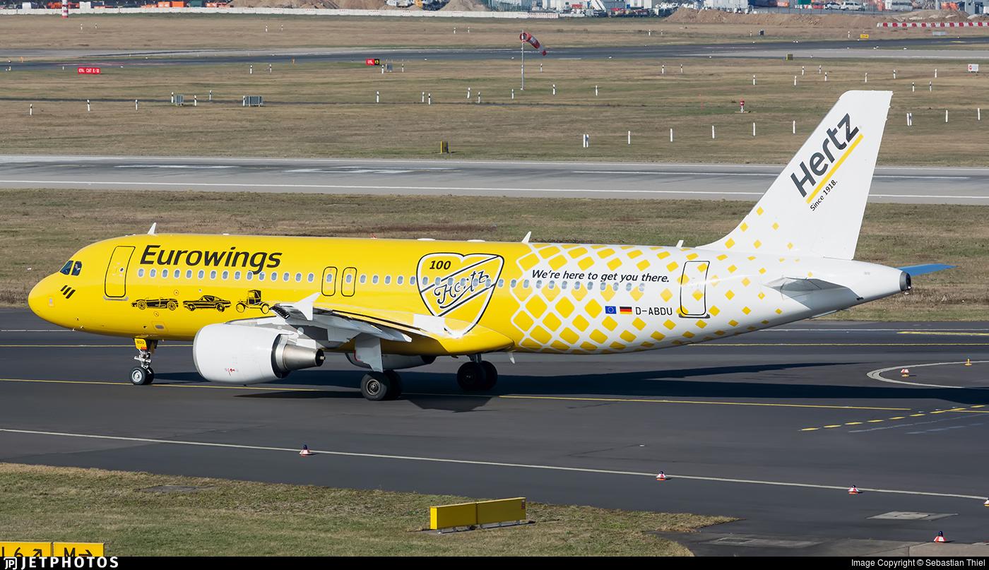 D-ABDU - Airbus A320-214 - Eurowings