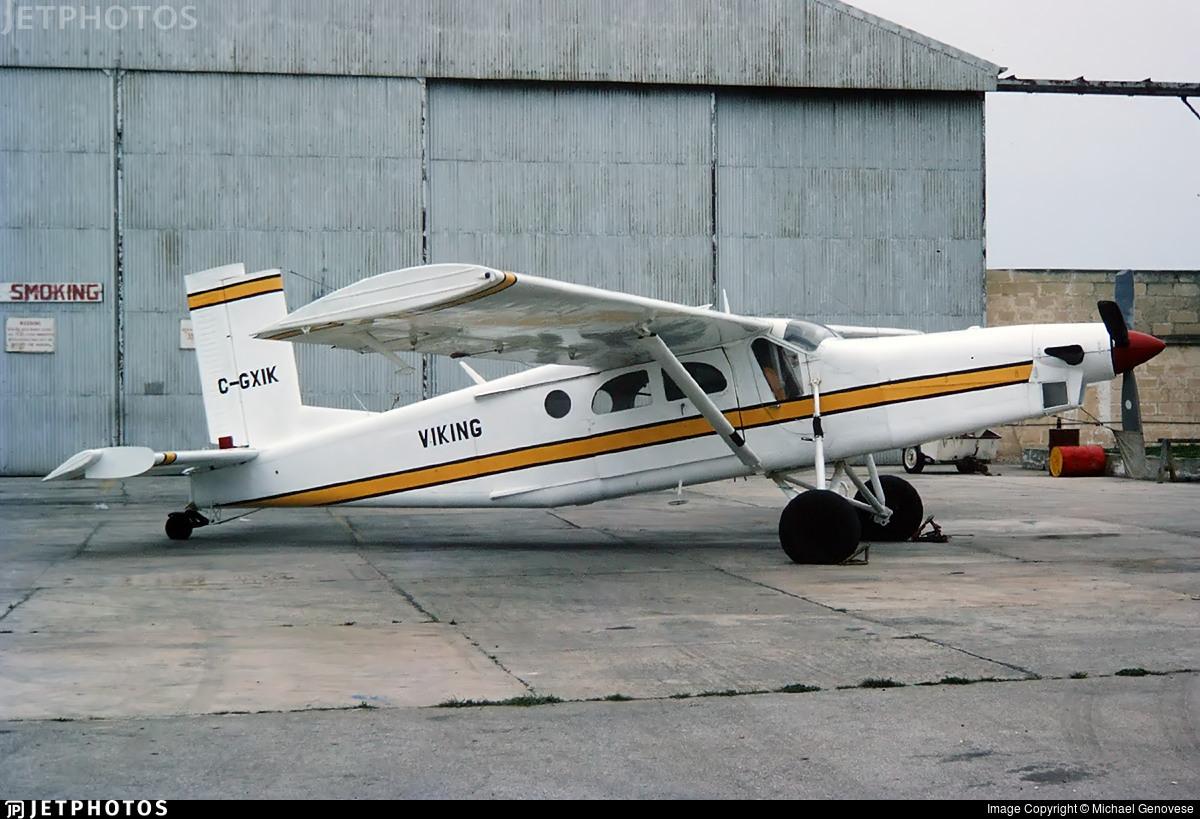 C-GXIK - Pilatus PC-6/B2-H2 Turbo Porter - Viking Airlines