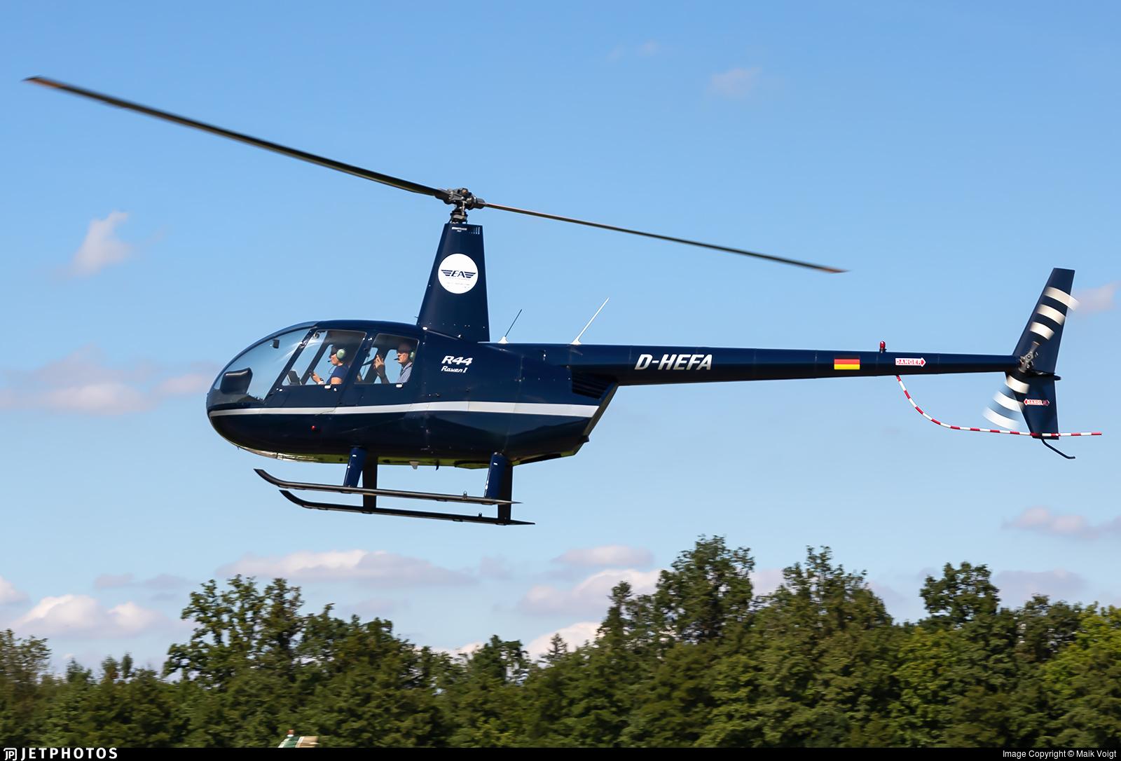 D-HEFA - Robinson R44 Raven - Eurofly Aviation